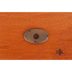 RKI BP 488 Distressed Oval Backplate