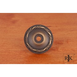 RKI BP 489 Flat Deco-Leaf Knob Backplate