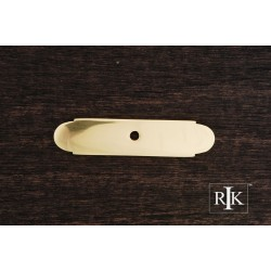 RKI BP 7819 Small Backplate with One Hole