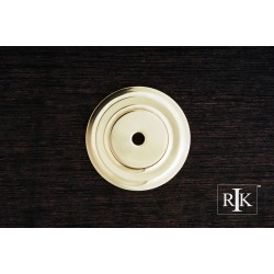 RKI BP 7821 Plain Single Hole Backplate