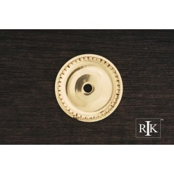 RKI BP 7822 Beaded Single Hole Backplate