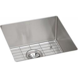 Elkay ECTRU17179DBG Crosstown Stainless Steel Single Bowl Undermount Sink Kit
