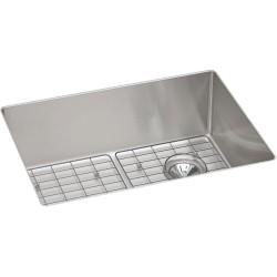 Elkay ECTRU24179RDBG Crosstown Stainless Steel Single Bowl Undermount Sink Kit