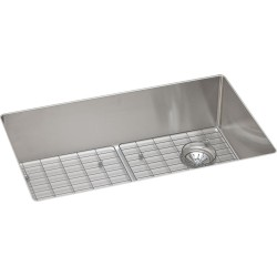 Elkay ECTRU30179RDBG Crosstown Stainless Steel Single Bowl Undermount Sink Kit