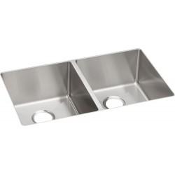 Elkay ECTRU31179 Crosstown Stainless Steel Double Bowl Undermount Sink