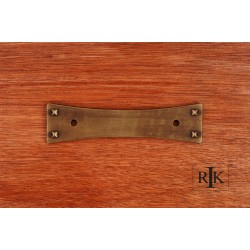 RKI BP 7902 Bent Rectangle Backplate