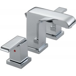 Delta 3586LF-MPU Two Handle Widespread Lavatory Faucet Arzo®