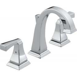 Delta 3551LF Two Handle Widespread Lavatory Faucet Dryden™