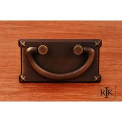 RKI CF 5260 Rectangular Plated Bail Pull