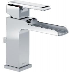 Delta 568LF-MPU Single Handle Lavatory Faucet with Channel Spout Ara™