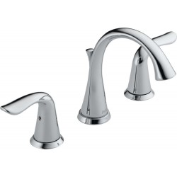 Delta 3538-MPU-DST Two Handle Widespread Lavatory Faucet Lahara®