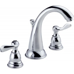 Delta B3596LF Two Handle Widespread Lavatory Faucet Windemere®