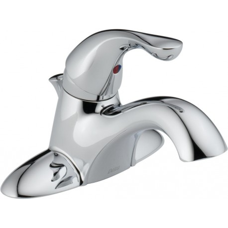 Delta 520-MPU-DST Single Handle Centerset Lavatory Faucet Classic