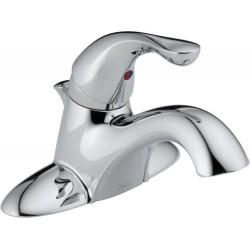 Delta 520-DST Single Handle Centerset Lavatory Faucet Classic