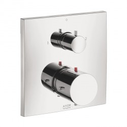 Axor 10726001 Starck × Thermostatic Trim with Volume Control and Diverter