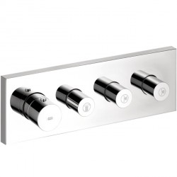 Axor 10751001 ShowerCollection Thermostatic Module Trim with Volume Controls