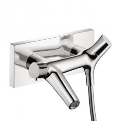 Axor 12410001 Starck Organic Thermostatic Wall-Mounted Tub Filler