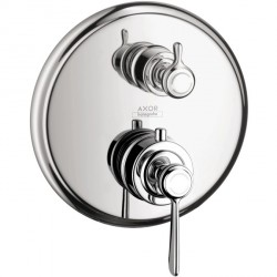 Axor 16821001 Montreux Thermostatic Trim with Volume Control and Diverter