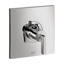 Axor 39711001 Citterio Thermostatic Trim with Lever Handle