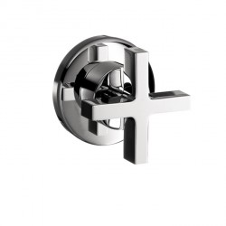 Axor 39967001 Citterio Volume Control Trim with Cross Handle