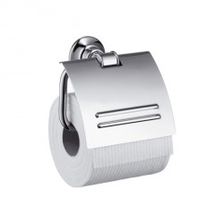 Axor 42036000 Montreux Toilet Paper Holder with Cover