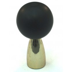 Cal Crystal 111-CM Athens Collection Polyester Sphere Knob with Solid Brass Knobs