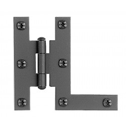 "Acorn AH3BQ 3"" H Hinge Flush Smooth Iron (Sold in Pairs)"