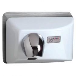 World Dryer Nova4 Automatic Cast Iron White Economical Universal Voltage Hand Dryers