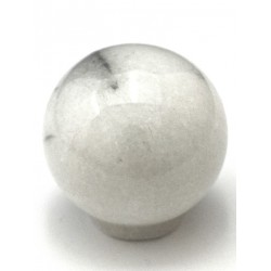 Cal Crystal RB Marble Cabinet Circle Knob