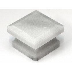 Cal Crystal S-3 Marble Cabinet Square Knob