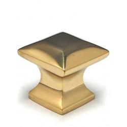 "Cal Crystal VB-169 Vintage Brass Collection 1¼"" Mission Knob"
