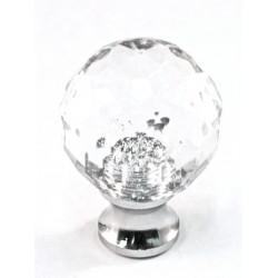 Cal Crystal M25 Crystal Knob Collection Round Knob