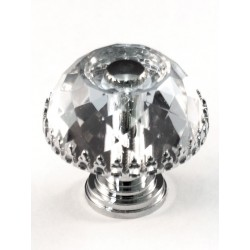 Cal Crystal M30A Decorative Crystal Cabinet Knob