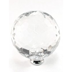 Cal Crystal M45 Crystal Knob Collection Round Knob