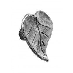 Acorn APR Leaf Black Knob Pull