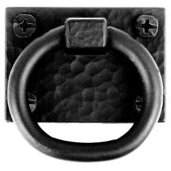Acorn APZBP 0230 Black Zinc Aluminum Ring Pull - Exterior