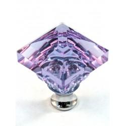 Cal Crystal M995 Crystal Excel Square Knob