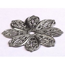 Cal Crystal 24BP Flower Backplate for Crystal Knobs
