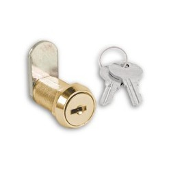 Zephyr 10823-010 Core Removable Cam Lock, Control Keyed, Finish- Brass