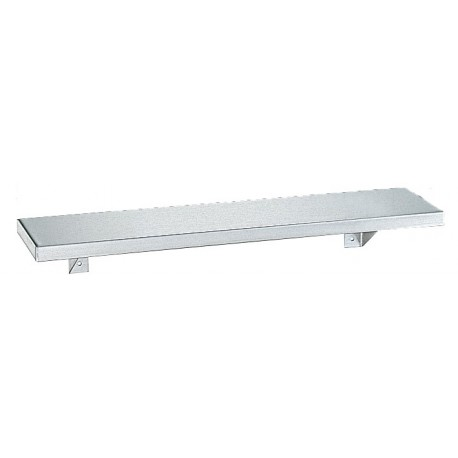 Bobrick B-296 Stainless Steel Shelf Wide