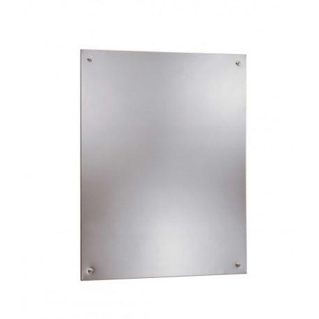 Bobrick B-1556 Frameless Stainless Steel Mirrors