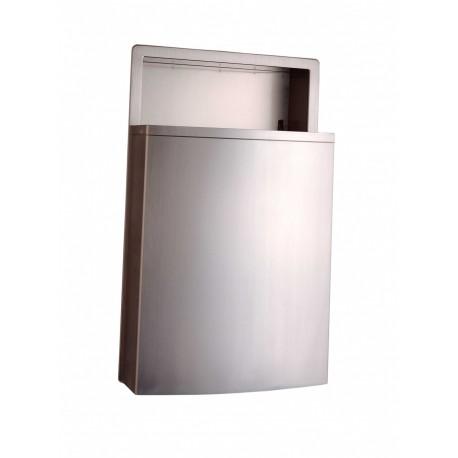Bobrick b 43644 conturaseries recessed waste receptacle - Commercial bathroom waste receptacles ...