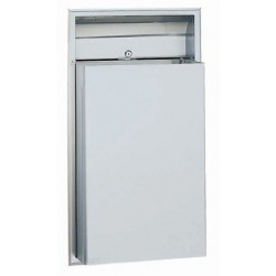 Bobrick B-3644 ClassicSeries Recessed Waste Receptacle