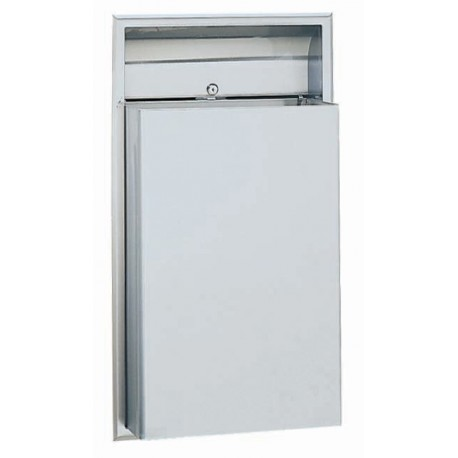 Bobrick b 3644 classicseries recessed waste receptacle - Commercial bathroom waste receptacles ...