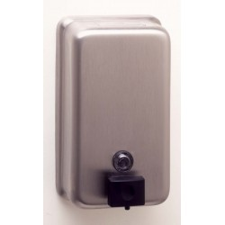 Bobrick B-2111 ClassicSeries Vertical Surface Mounted Soap Dispenser