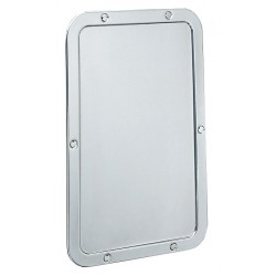 Bobrick B-942 Frameless Mirror (Front Secured)