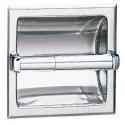 Bobrick 600 Series 667 1 Roll Recessed Toilet Tissue Dispensers