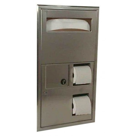 Bobrick B 3574 Classicseries Recessed Partition Mounted