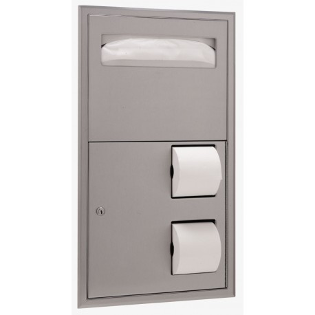 Bobrick B 3474 Classicseries Recessed Partition Mounted