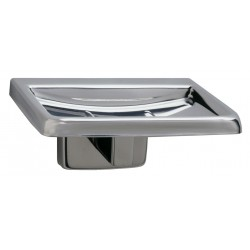 Bobrick B-680 Surface-Mounted Soap Dish